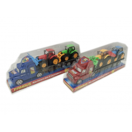 Igračka Kamion + 2 Bagera