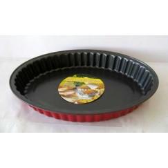 Metalna tepsija ovalna 30cm 074
